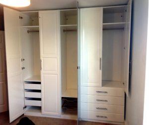 Ikea pax wardrobe assembly - Flat Pack Dan Sussex