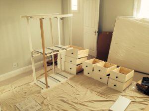Ikea Hemnes 8 drawer chest assembled by Flat Pack Dan