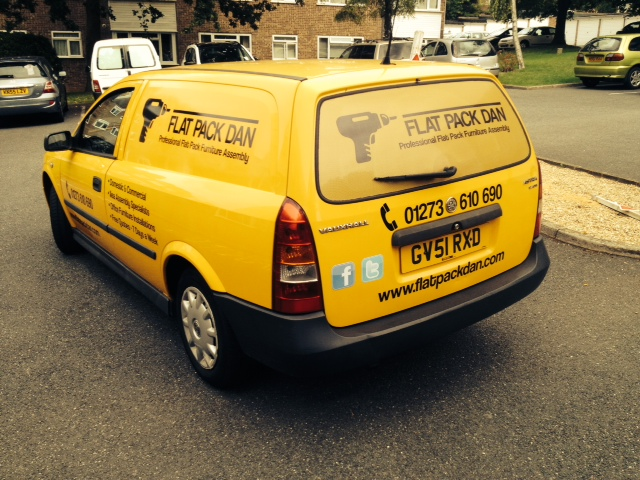 Flat Pack Dan's Van
