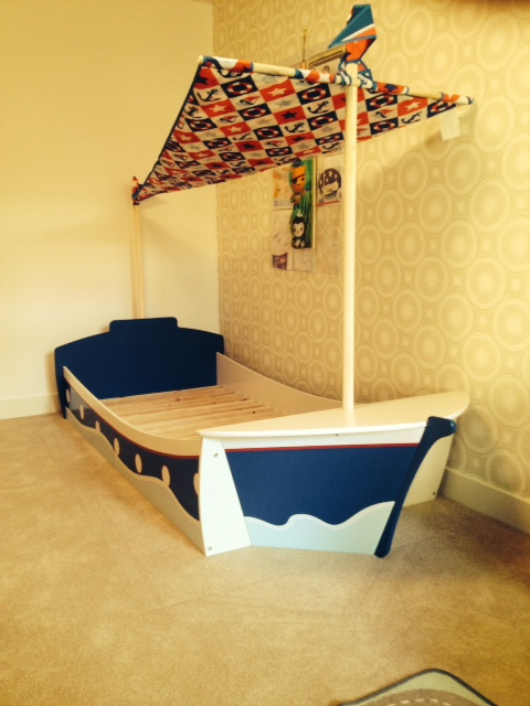 Next Pirate Bed Assembly by Flat Pack Dan