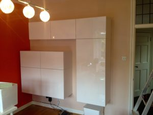 IKEA Besta wall unit assembly & installation by Flat Pack Dan