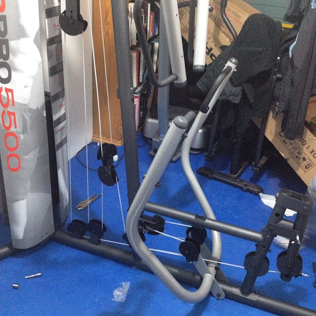 #homegym #multigym #assembly These cable and pulley systems take a VERY long time to assemble!