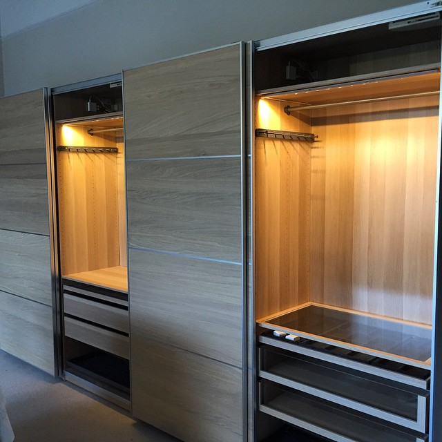 Ikea Pax Wardrobe Installation With Lighting For A