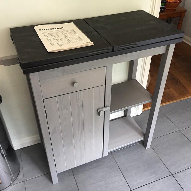 Ikea kitchen storage unit assembly, Brighton & Hove.