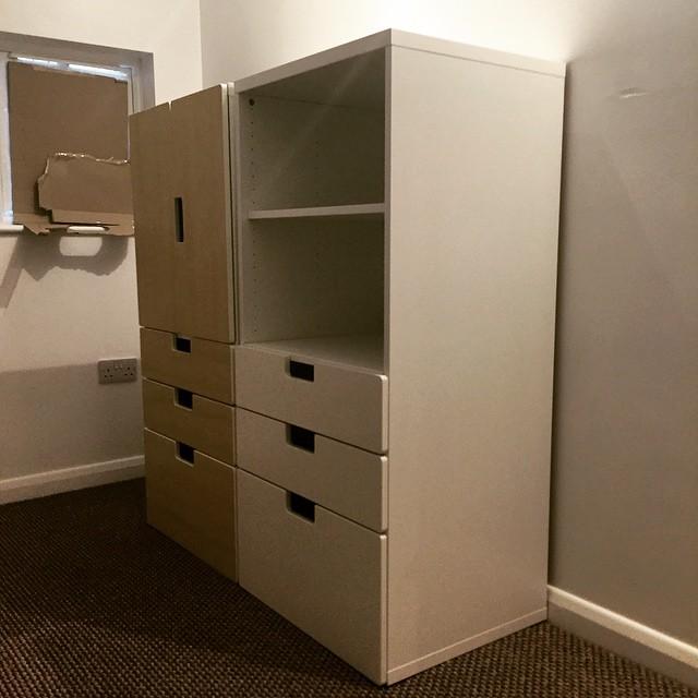Ikea Stuva children's storage assembly, Brighton & Hove.