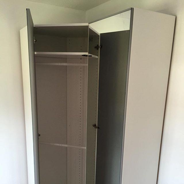 Ikea Pax Corner Unit Assembly Crawley Flat Pack Dan