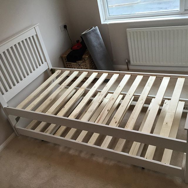Trundle Bed Assembly Hove Flat Pack Dan