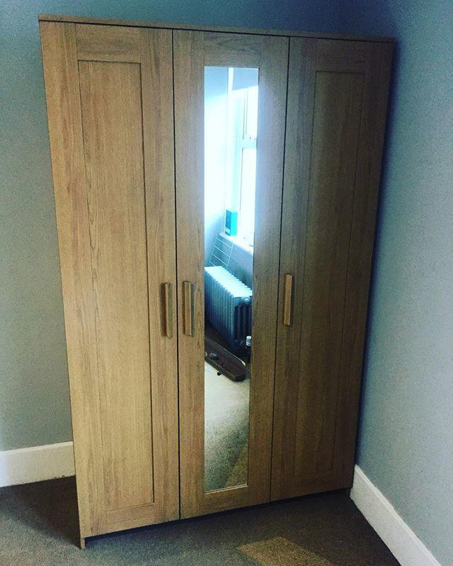 #ikea Brimnes 3 door wardrobe assembly, #brighton Flat Pack