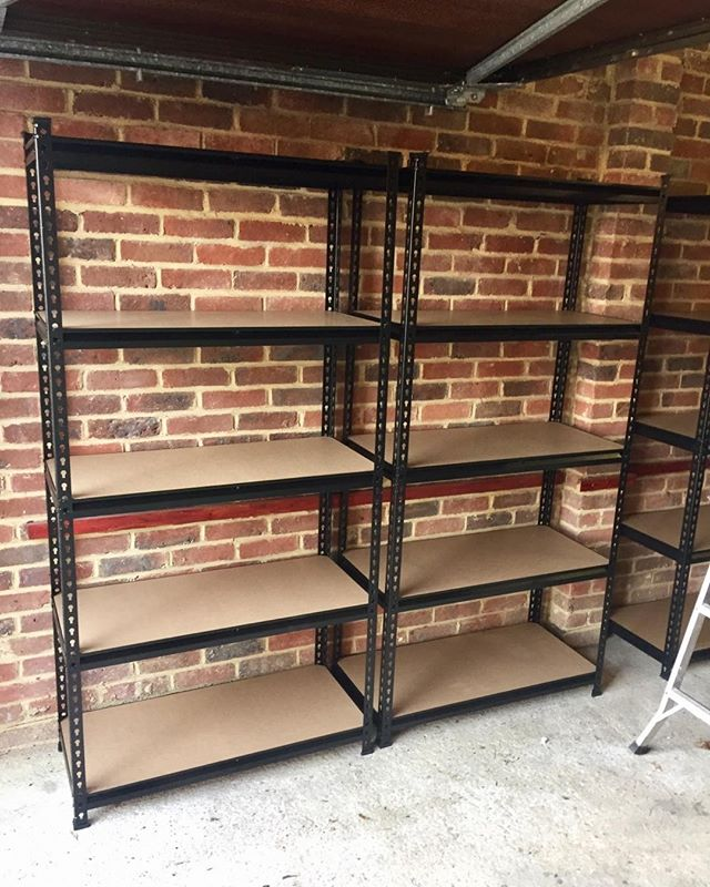 Garage Racking Assembly, Lewes.