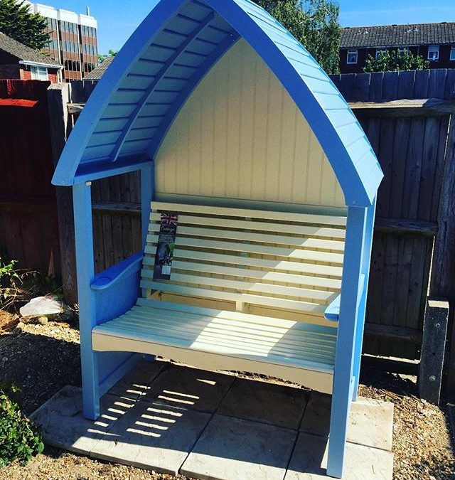 Garden Arbour Assembly Worthing West Sussex Flat Pack Dan