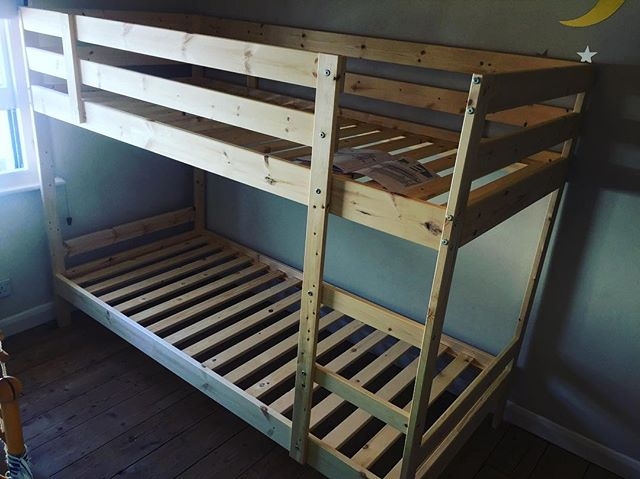 Ikea Mydal Bunk Beds Assembly Hove Sussex Flat Pack Dan