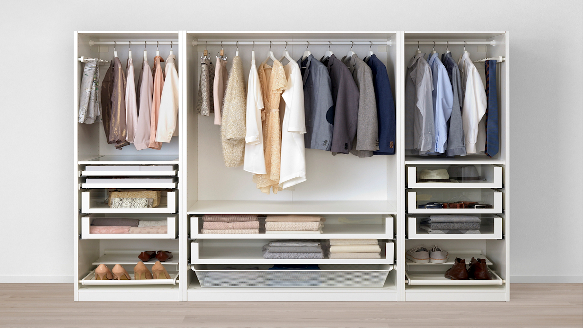 Flat Pack Dan IKEA PAX wardrobe assembly & installation service East & West Sussex